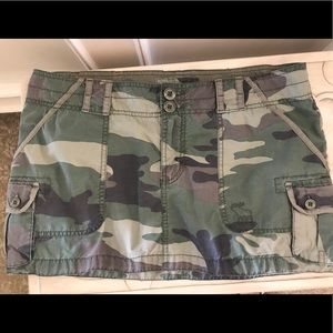 Abercrombie Camo Mini Skirt